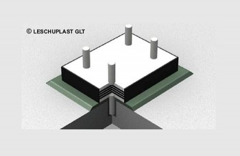 Suporti elastomerici armati cu otel - Suporţi de amortizare a sunetului tip SD