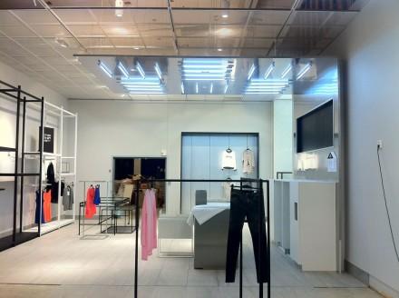 Plafon magazin - Plafoane metalice rezistente la foc