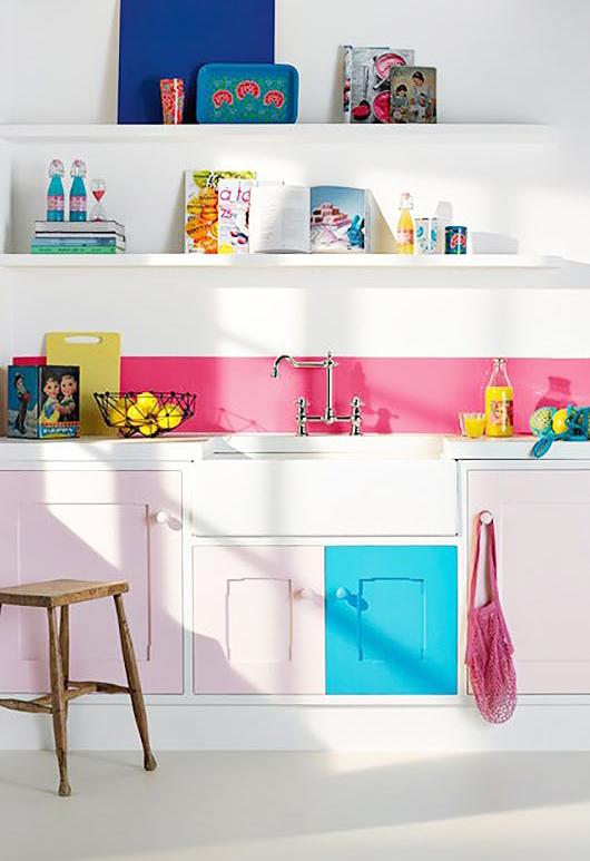 Cele mai colorate si creative dulapuri de bucatarie - Cele mai colorate și creative dulapuri de