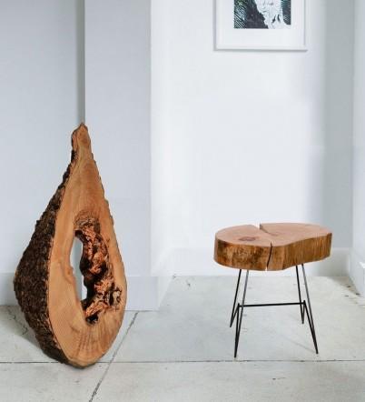 Obiecte unicate din lemn masiv - Obiecte realizate de OLD ROOT