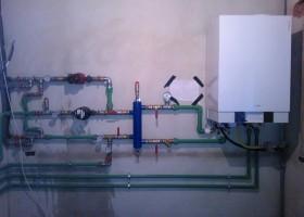 Montaj centrala pe gaz 1 - Montaj centrale pe gaz simple sau in condensatie - CIUPIROM INSTAL
