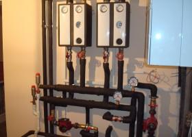 Montaj centrala pe gaz 2 - Montaj centrale pe gaz simple sau in condensatie - CIUPIROM INSTAL