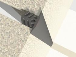 Profil de dilatatie pentru pereti Hidroplasto 21 /P - Profile dilatatie pentru perete si tavane