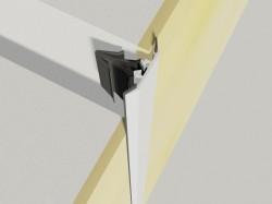 Profil de dilatatie pentru pereti Hidroplasto 22 /P - Profile dilatatie pentru perete si tavane