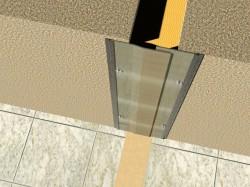 Profil de dilatatie pentru pereti si tavane Hidroplasto 24/W - Profile dilatatie pentru perete si tavane
