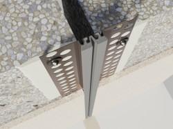 Profil de dilatatie pentru pereti si tavane Hidroplasto 318 - Profile dilatatie pentru perete si tavane