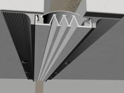 Profil de dilatatie pentru pereti Hidroplasto 324 - Profile dilatatie pentru perete si tavane
