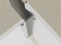 Profil de dilatatie pentru pereti Hidroplasto E322 - Profile dilatatie pentru perete si tavane