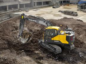 Excavator pe senile - EC140 E - Excavatoare pe senile - Volvo