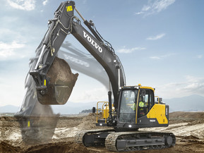 Excavator pe senile - EC160 E - Excavatoare pe senile - Volvo