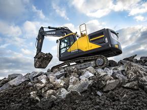 Excavator pe senile - EC250 E - Excavatoare pe senile - Volvo