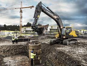 Excavator pe senile - EC300E - Excavatoare pe senile - Volvo