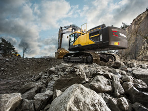 Excavator pe senile - EC480E - Excavatoare pe senile - Volvo