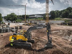 Excavator pe senile - EC180E - Excavatoare pe senile - Volvo