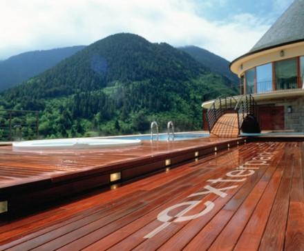 Pardoseala din lemn pentru exterior sub forma de lamele - Pardoseala din lemn pentru exterior sub forma de lamele