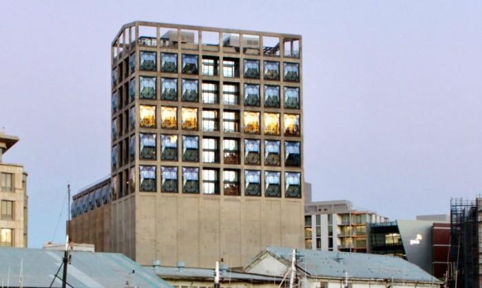 Un siloz modernizat cu ajutorul vitrajelor din sticlă - Un siloz modernizat cu ajutorul vitrajelor din sticlă