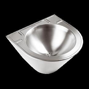Lavoar conic din otel inox - SLUN 58 - Lavoare si spalatoare din otel inox