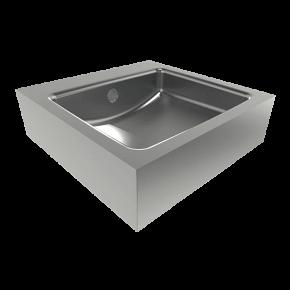 Lavoar din otel inox - SLUN 65 - Lavoare si spalatoare din otel inox