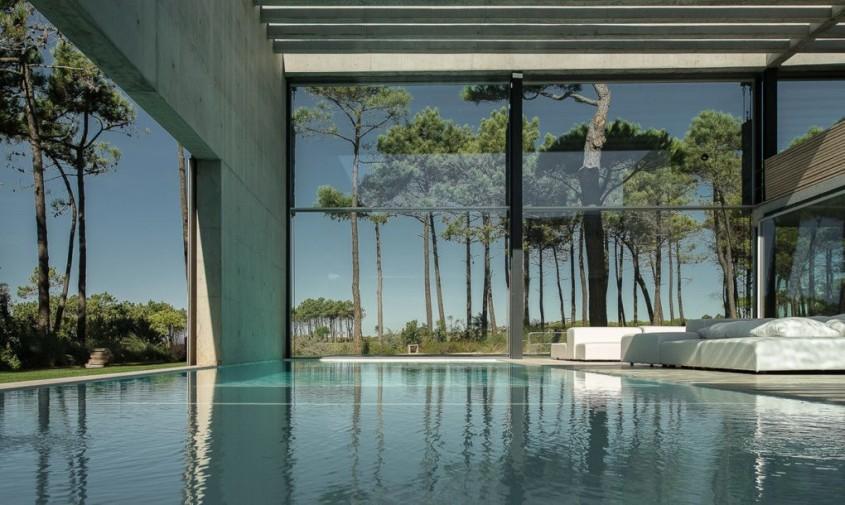 Wall House - O reședință cu doua piscine, una deasupra celeilalte