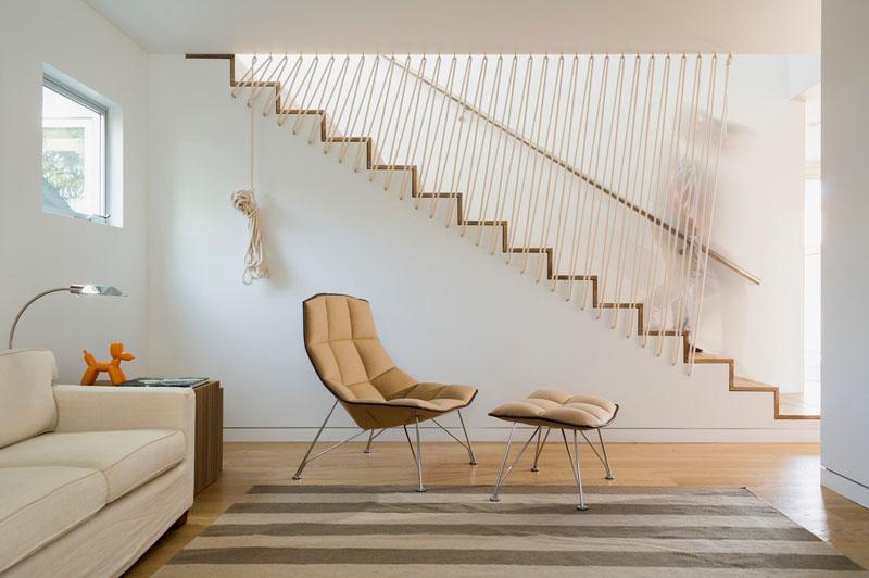 Sfori simple și împletite pe post de balustradă - Sfori simple și împletite pe post de