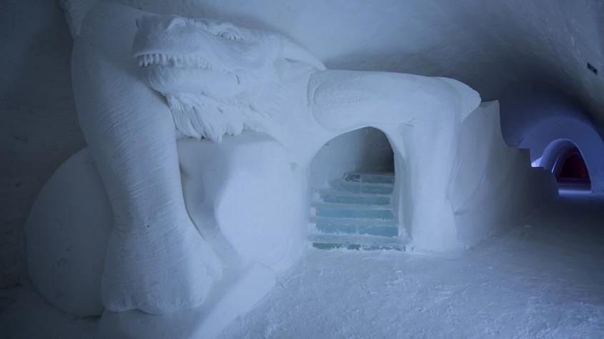 """Noul hotel de gheata """"Game of Thrones"""" - Bucurie pentru fani - imagini cu noul hotel de gheață """"Game of Thrones"""