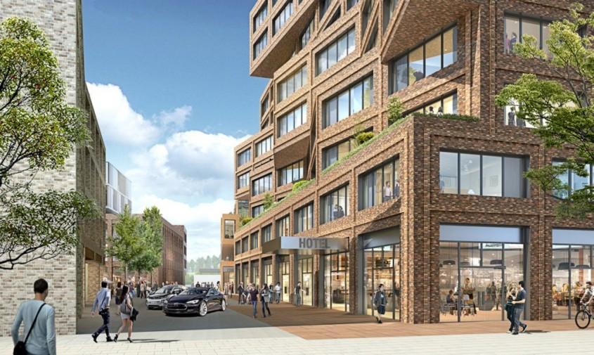Die Macherei - Un nou centru de afaceri din Europa se va face remarcat prin acoperisurile