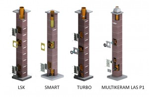Sistemele de cosuri de fum Leier - Modele de cosuri de fum - LEIER