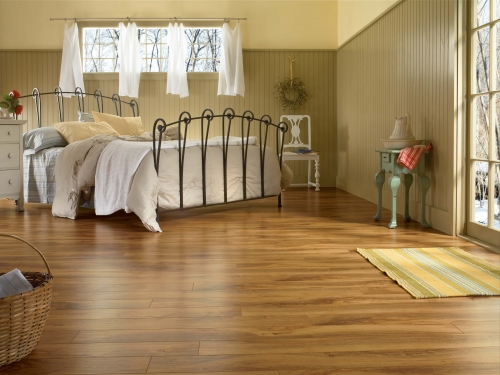 Pardoseli laminate - Finisaje pentru pardoseli - ce se potriveste pentru dormitor?