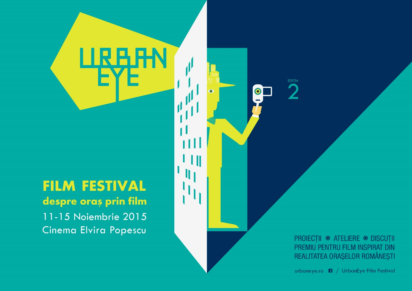 UrbanEye Film Festival editia a 2-a despre oras prin film - UrbanEye Film Festival editia a