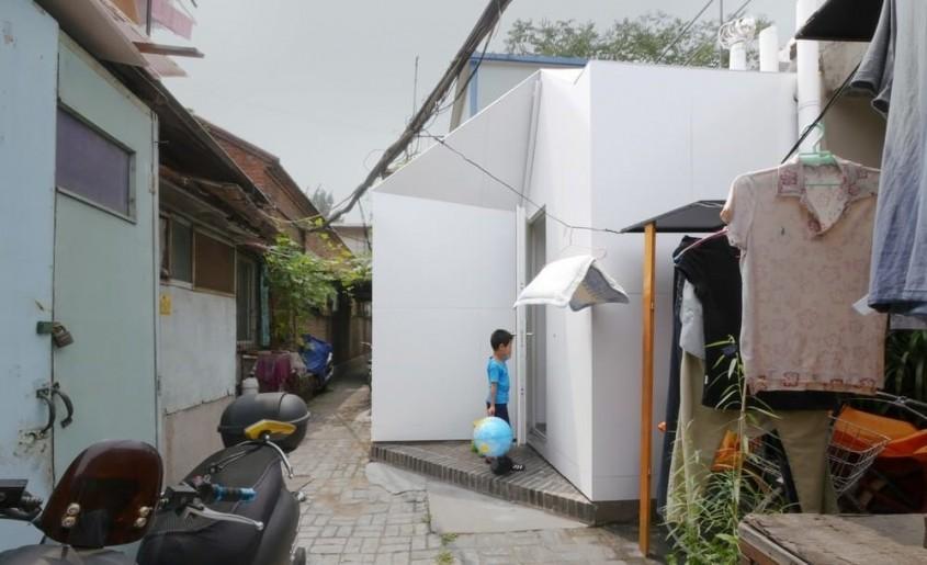O casă în valoare de 10 000 de dolari poate fi construită în mai puțin de