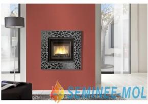 Semineu modern de perete - Mosaique - Seminee moderne