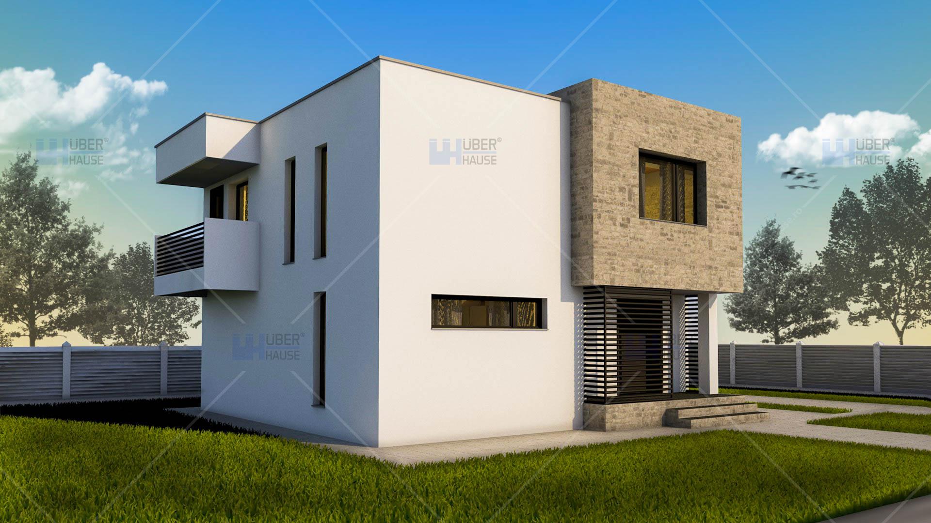 Proiecte case cu etaj uberhause for Planuri de case