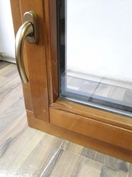 Detaliu ferestre lemn-aluminiu - Ferestre din lemn-aluminiu