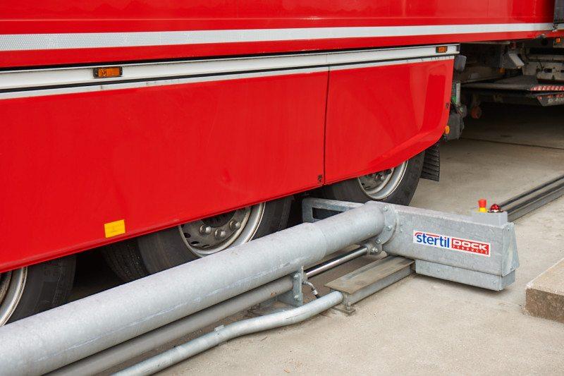 Sisteme de blocare automatizata a camionului in sistemul de andocare - Solutii pentru industria alimentara de