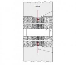 Tuburi cu canale tip VS - unghiular - Tuburi pentru echipamentele apa si canalizare