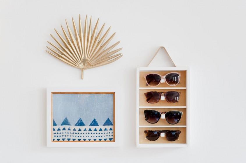 DIY Fa-ti chiar tu un suport practic pentru ochelarii de soare! - DIY Fă-ți chiar tu