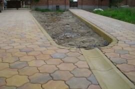 Rigola din beton pentru terase Scafa R1 - Rigola din beton pentru terase Scafa R1