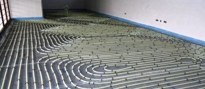 Sistem de incalzire/ racire prin pardoseala Uponor Tacker - Sisteme de incalzire si racire prin pardoseala