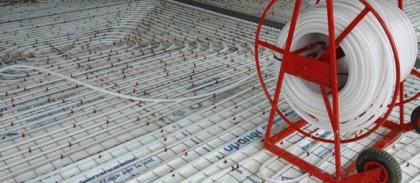 Sistem de incalzire/ racire prin pardoseala Uponor Clasic - Sisteme de incalzire si racire prin pardoseala