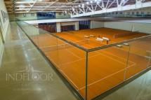 teren tenis pro clay indoor - Executie pardoseli sportive