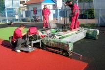 echipamente montaj pardoseli sport - Executie pardoseli sportive