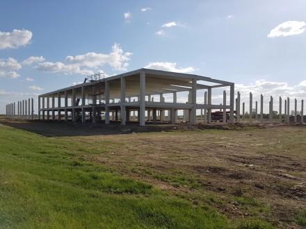 Spatii de productie si de depozitare - Lucrari in desfasurare Rikko Steel
