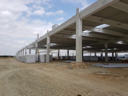 Fabrica de sisteme de evacuare, hala depozit si birouri - Lucrari in desfasurare Rikko Steel