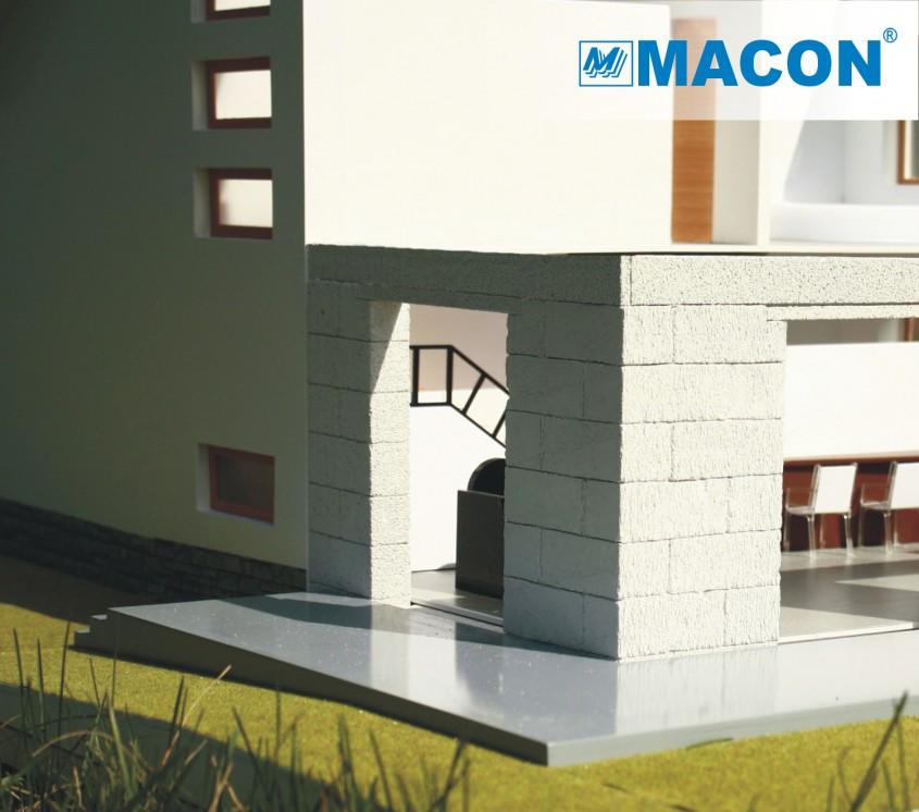 MACON este furnizor aprobat de solutii pentru locuinte verzi - MACON este furnizor aprobat de solutii