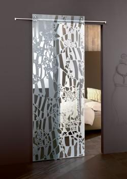 Usa glisanta cu montaj la exteriorul peretelui Flos - Usi glisante la exteriorul peretelui