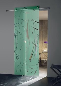 Usa glisanta cu montaj la exteriorul peretelui Zefira - Usi glisante la exteriorul peretelui