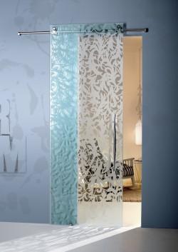 Usa glisanta cu montaj la exteriorul peretelui Florita - Usi glisante la exteriorul peretelui