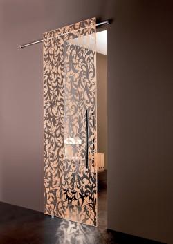 Usa glisanta la exteriorul peretelui Florita - Usi glisante la exteriorul peretelui