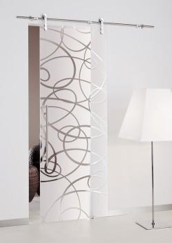 Usa glisanta cu montaj la exteriorul peretelui Aura - Usi glisante la exteriorul peretelui