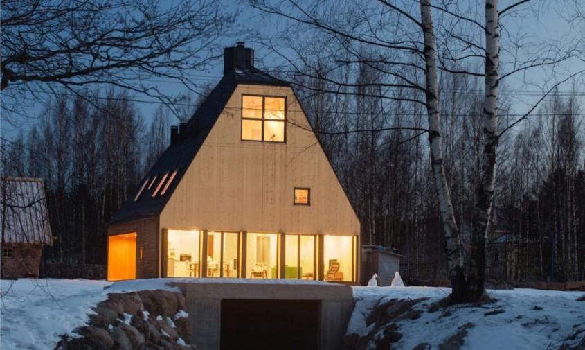 Casa ce profita de inaltime pentru a evita restrictiile locale de urbanism - Casa ce profita